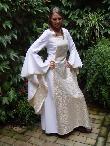 MittelalterKleidung- Mittelalterhochzeitskleid
