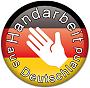 Handarbeit hergestellt in Deutschland