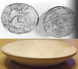 Holzschale Mittelalter Befund und Replik