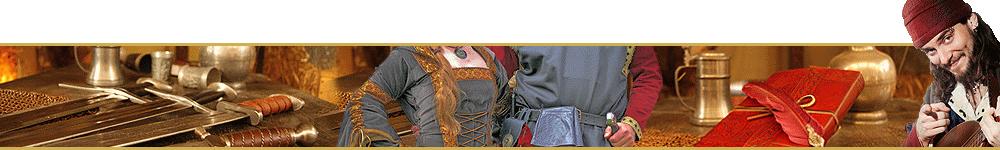 Mittelalter Shop Headline Mittelalter-Waffen-Kleidung-Lagerleben