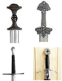 Abb. Mittelalterschwerter