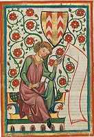 Abb. das Ritterschild