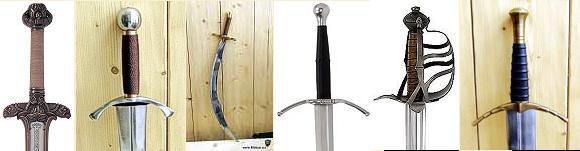 Abb. Schwerter