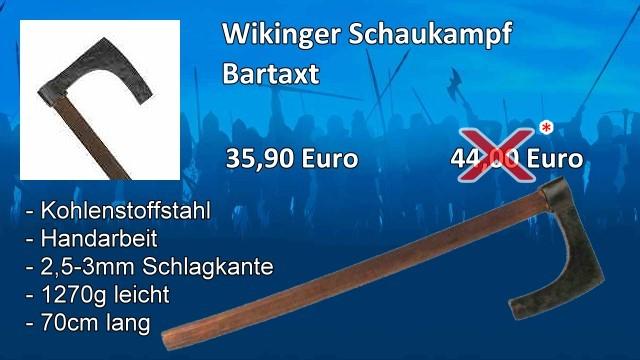 Wikingerbartaxt Schaukampf