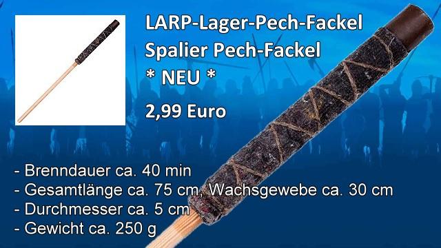 LARP-Lager-Pech-Fackel