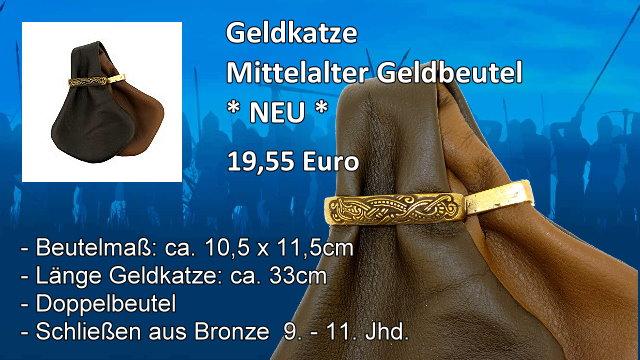 Geldkatze Mittelalter Geldbeutel