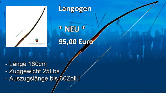 Langbogen EL160 25lbs