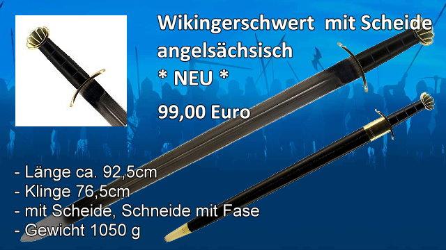 Wikingerschwert angelsächsischer Typ
