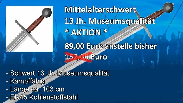 Mittelalterschwert M2S5711