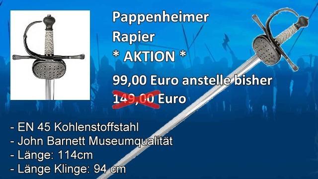 Pappenheimer Rapier M2S5725M