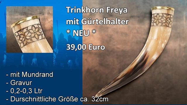 Trinkhorn Freya