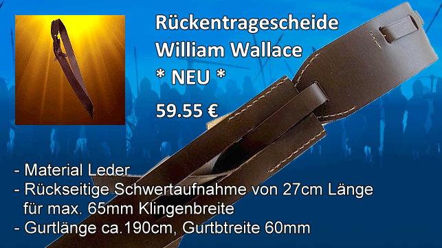 Rückentragescheide William Wallace