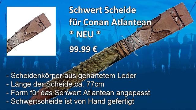 Schwertscheide für Schwert Conan Atlantean