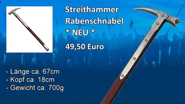 Streithammer Rabenschnabel