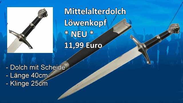 Dolch-Loewenkopf M2V7645546