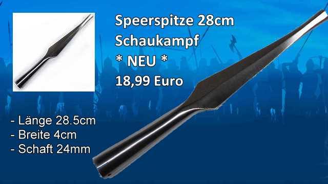 Speerspitze-28 M202PSP2ST