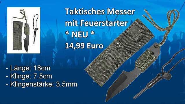 Taktisches Messer M2H1A339