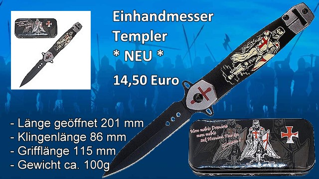 Einhandmesser Templer