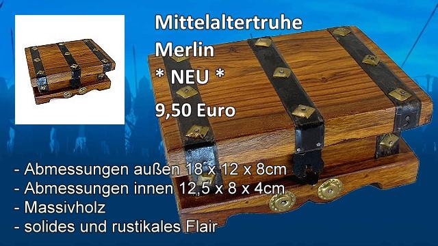 Mittelaltertruhe Merlin