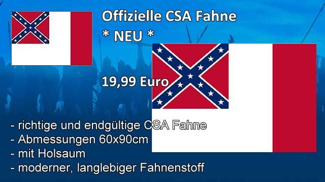 Offizielle CSA Fahne