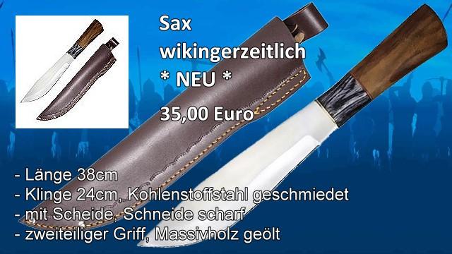 Sax wikingerzeitlich