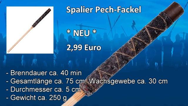 Spalier Pech-Fackel