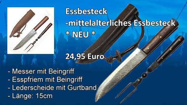 Mittelalter-Essbesteck TMSS23026
