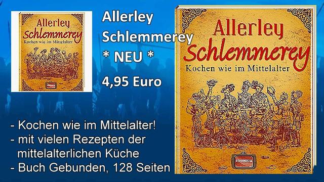 Mittelalter Kochbuch Allerley Schlemmerey