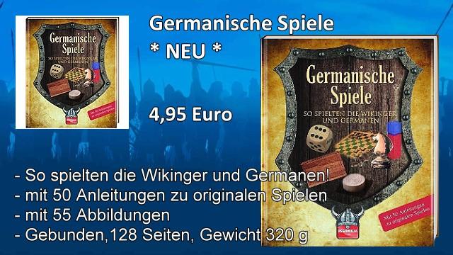 Buch Germanische Spiele