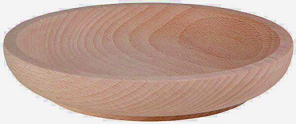 Holzschale Buche flach