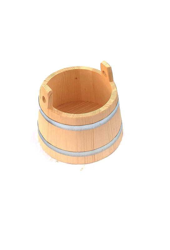 Bild Nr. 3 Holzeimer Bottich kegelförmig 7 Liter