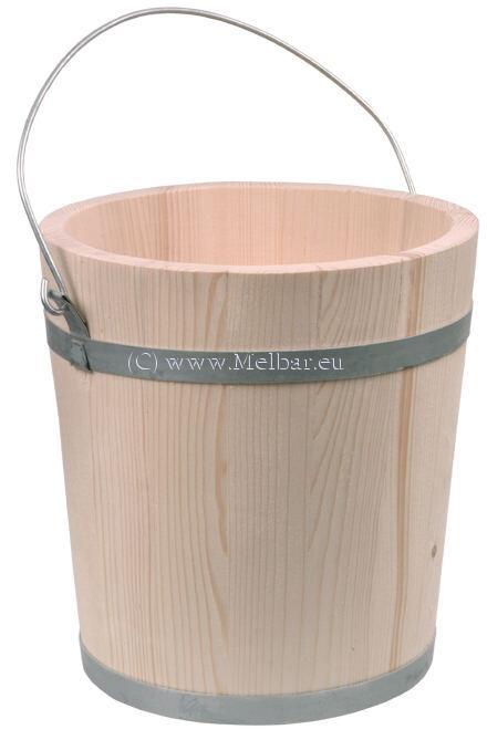 Holzeimer 10 Liter