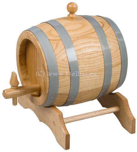 Holzfass Eiche unlackiert 2 Liter