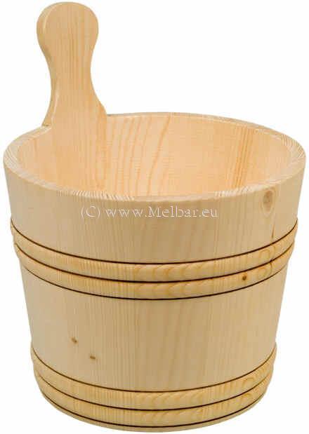 Kübel mit Kunststoffeinsatz 5 Liter