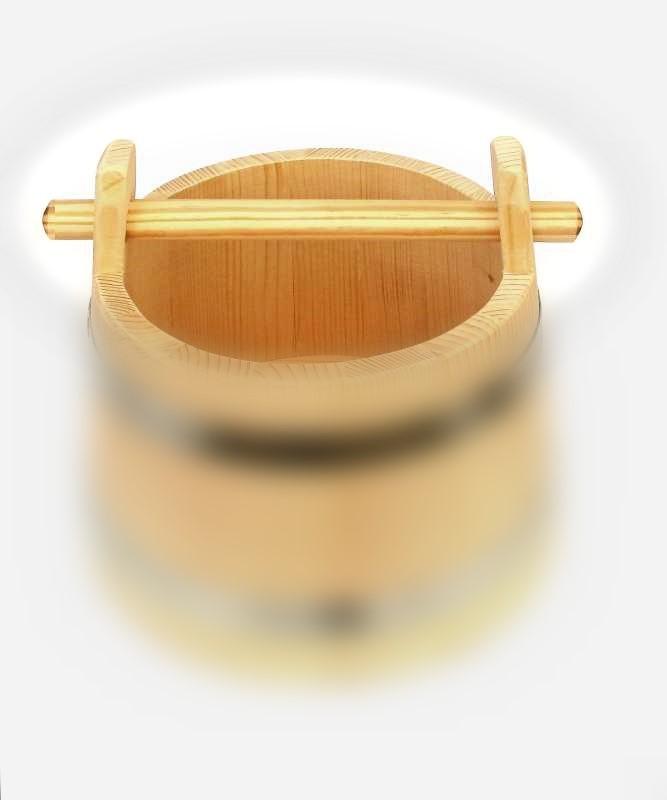 Bild Nr. 2 Holzgriff für Holzeimer Bottich