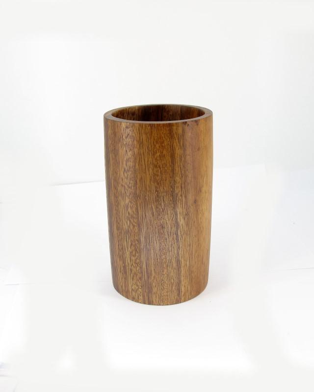 Großer Holzbecher halber Liter