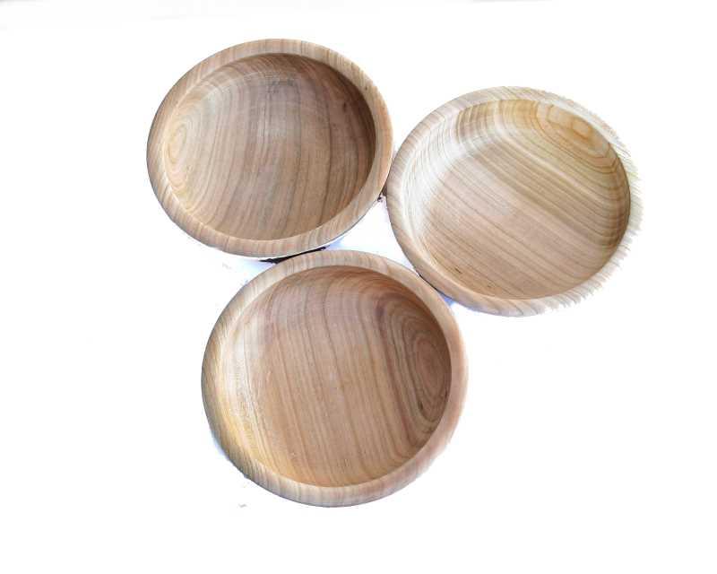 Bild Nr. 2 Holzschale Kirsche gedrechselt