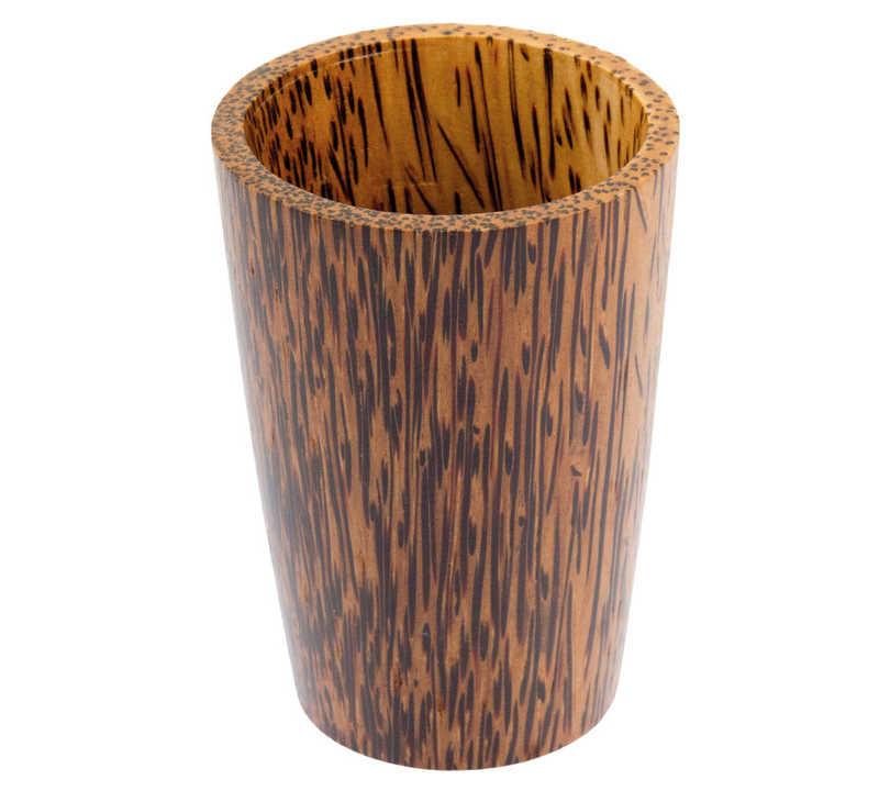 Holzbecher Kokos