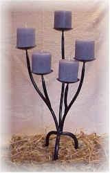 Kerzenständer für 5 Kerzen