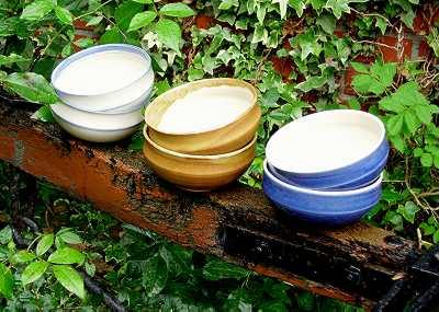 Keramik-Schale, 12,5cm