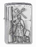 Zippo-Feuerz. Crusader Armed