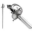 Abb. Schwert des Oliver Cromwell von John Barnett