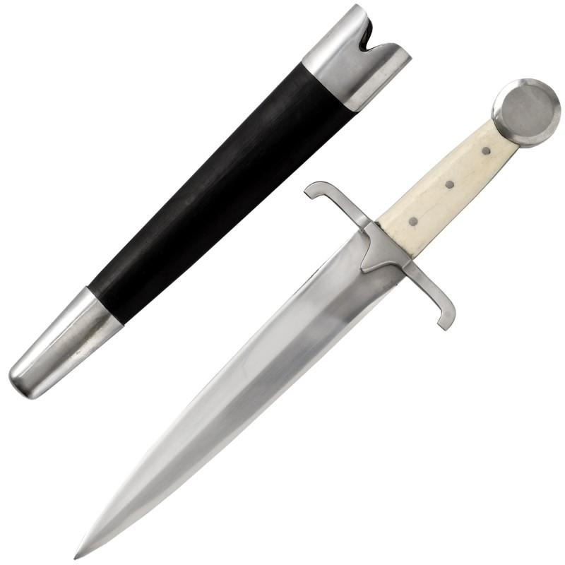 Bild Nr. 3 Mittelalterdolch Quillon Dagger