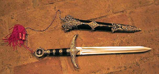 Bild Nr. 2 Mittelalter-Dolch Robin