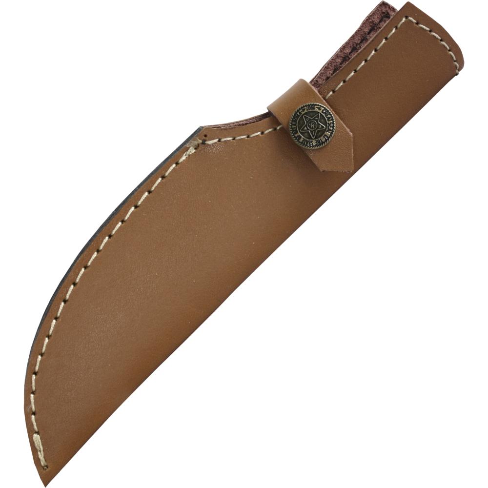 Bild Nr. 2 Mittelalter-Messer mit Holzgriff