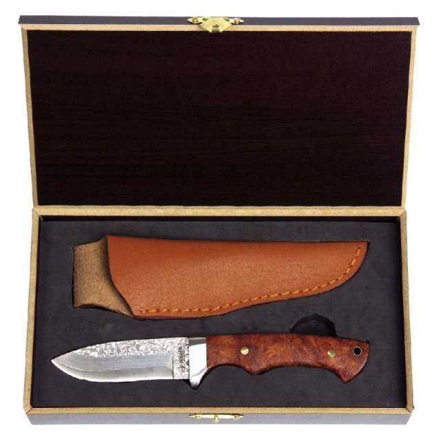 Bild Nr. 3 Damastmesser in Holz-Geschenkbox