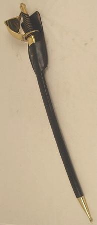 Cutlass mit Leder Scheide