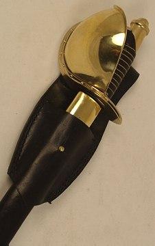 Bild Nr. 2 Cutlass mit Leder Scheide