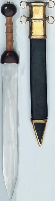 Bild Nr. 5 Gladius, Römisches Schwert.