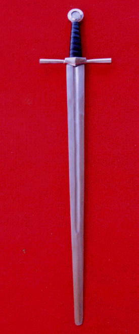 Handgeschmiedetes Schaukampfschwert